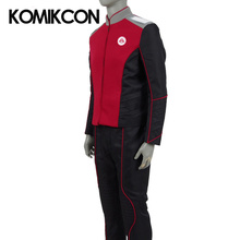 The Orville Security Department Uniform Cosplay Alara Kitan Costumes Starfleet Duty Outfit Halloween Christmas Full Set