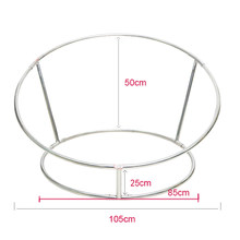 Newborn Photography Props Baby Flokati Photo Shoot Accessories Basket For Studio 85CM Big Size Bean Bag+ Nest Round Shelf(China)