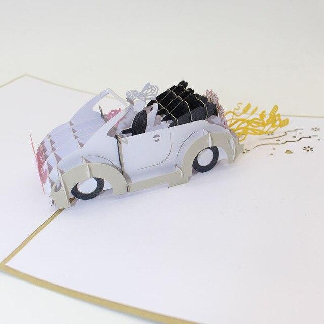 Doreenbeads Kreative 3d Hochzeitskarten Einladungen Susse Braut Und