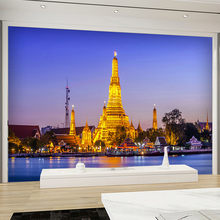 Custom 3D Photo Wallpapers European Modern Architecture Eiffel Tower Night Wall  Mural For Living Room Backdrop Decor Wall Paper Part 96