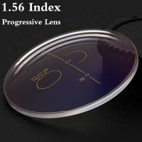 1 56 Index Aspheric Multi Focus Progressive Lens CR 39 Prescription Myopia Presbyopia Eye Glasses Lens
