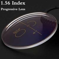 1 56 Index Aspheric Multi Focus Progressive Lens CR 39 Prescription Myopia Presbyopia Eye Glasses Lens