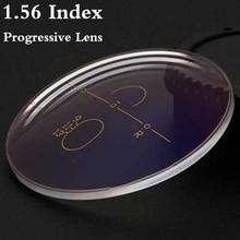 1.56 Index Asferische Multi Focus Progressieve Lens CR 39 Recept Bijziendheid Presbyopie Bril Lens Anti Straling RS017