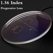 1.56 Index Aspheric Multi Focus Progressive Lens CR-39 Prescription Myopia Presbyopia Eye Glasses Lens Anti-Radiation RS017