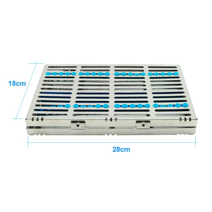 Easy to Clean NEW Dental Sterilization Cassette Rack Tray Box for 20 Surgical Instruments key to endodontic success chemical means of root canal sterilization