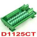 DIN Рейку 10 Позиция Распределения Питания Предохранитель Модуль Доска, для AC/DC 5 ~ 48 В.