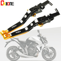 Motorcycle Accessiores For Honda VT 750 CD Ace 2001 2003 2002 CNC Motorcycle Brake Clutch Levers Adjustable Folding