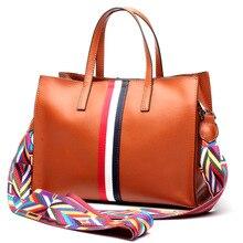 купить Genuine Leather Handbags 2019 Luxury Handbags Women Bags Designer Women's handbags Shoulder Bag Messenger Bag Cowhide Tote Bag по цене 2572.53 рублей
