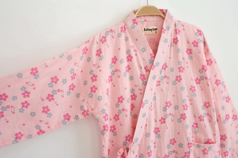 women cotton pajama robe