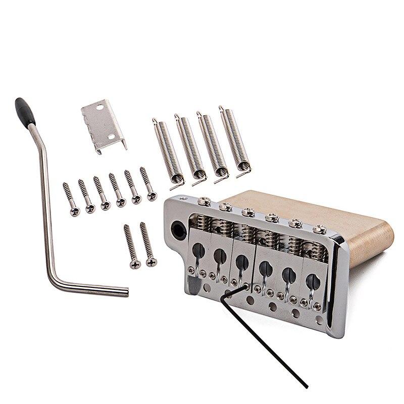 Guitare électrique trémolo système pont en acier inoxydable selles accessoires d'instruments de musique xr-hot - 4