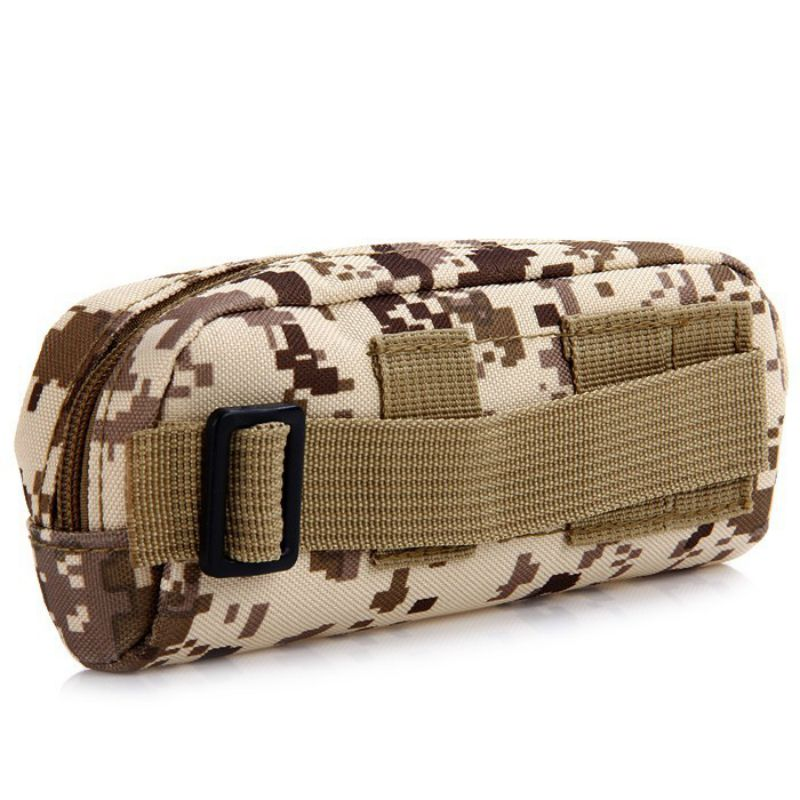 Running Bag Glasses Pouch Molle Waist Portable Bag Tactical Outdoor Pouch Eyeglasses Sunglasses Case Holder EDC Sports Bag