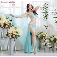 Belly Skirt Dance Suit