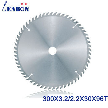 цена на LEABON 300mm  (12)  TCT Saw Blade  300*3.2*30*96T  (ATB Teeth ) Woodworking Circular Saw Blade for Woodworking Cutting