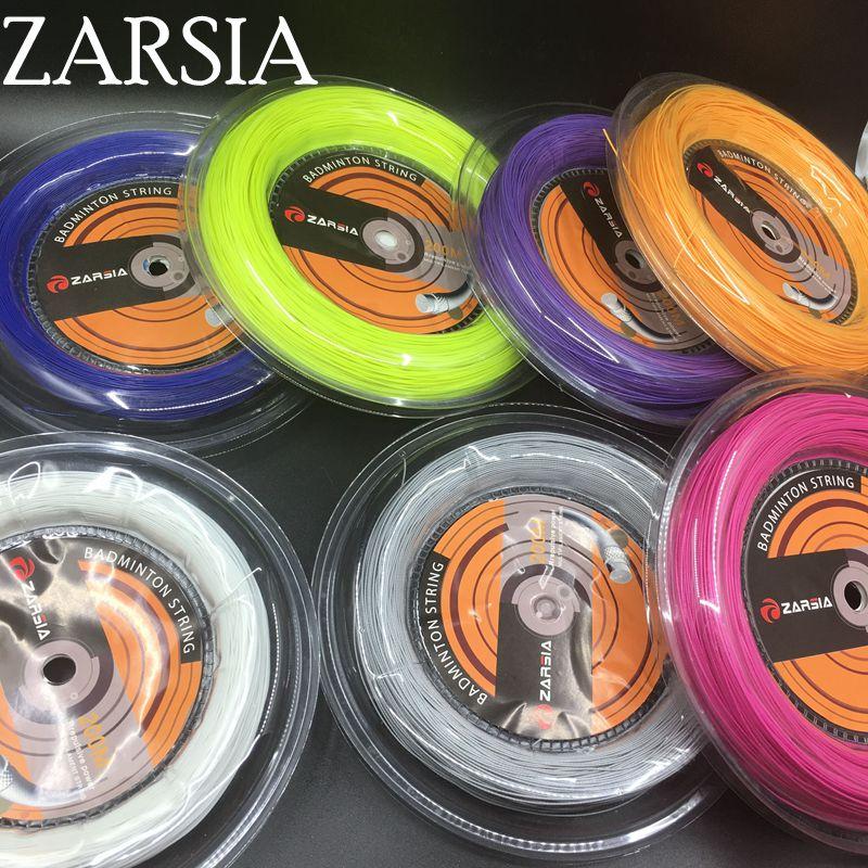 Free Shipping 1 Reel ZARSIA 0.70mm Badminton String Reel 200M
