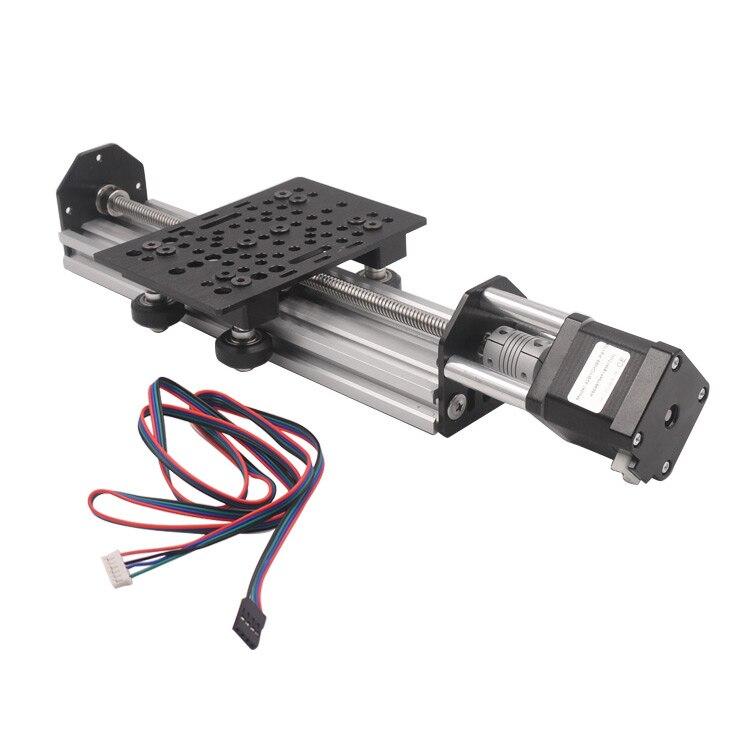 3d Printer Sliding Table Effective Travel 150mm Total Length 344mm 2060 V-slot NEMA17 T8 Lead Screw Linear Actuator