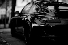 cool black and white super sports car KC559 living room home wall modern art decor wood frame fabric poster