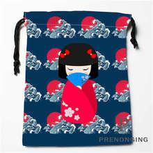 Custom Japanese Culture Drawstring Bags Printing Fashion Travel Storage Mini Pouch Swim Hiking Toy Bag Size 18x22cm 171203-04-08
