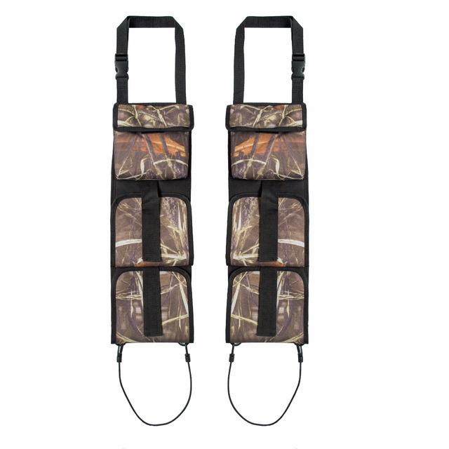 Vehicle Front Seat Storage Gun sling Bag Back Seat Hanging Rifle Rack Case Hunting Gun Holsters Organizer With Pockets
