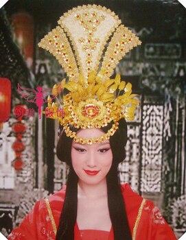Female costume hair accessory hanfu traditional bride wedding tiaras hair accessories tang suit hanfu hair crown