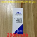 2980 mah batería del teléfono li3823t43p6ha54236-h uso para zte nubia z7 mini z7 mini nx507j 5.0 pulgadas