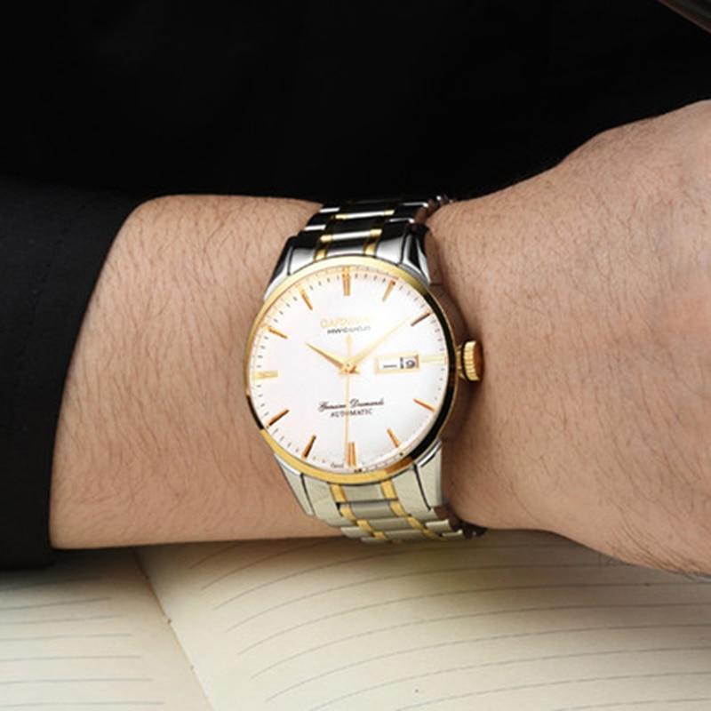 Здесь можно купить  Switzerland Carnival Top Brand Luxury Men Watches Automatic Self-Wind Watch Men Sapphire reloj hombre relogio clock C8646G-9  Часы
