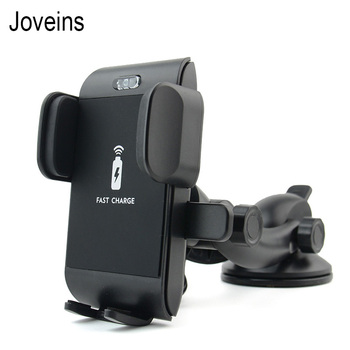 JEREFSIH Wireless Car Charger For iPhone X 8 Samsung Note 9 S9 Suction Cup Qi Wireless Charger Charging Wirless Car Phone Holder