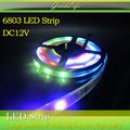 5m 6803 IC 5050 digital RGB LED Strip,150LED IP67 waterproof dream magic color 6803 Led Strip 5050,30LED/m DC12V