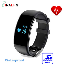 Hraefn smart band D21 Dfit smartband Heart Rate monitor swimming Activity Fitness Tracker watch sport bracelet for IOS Android
