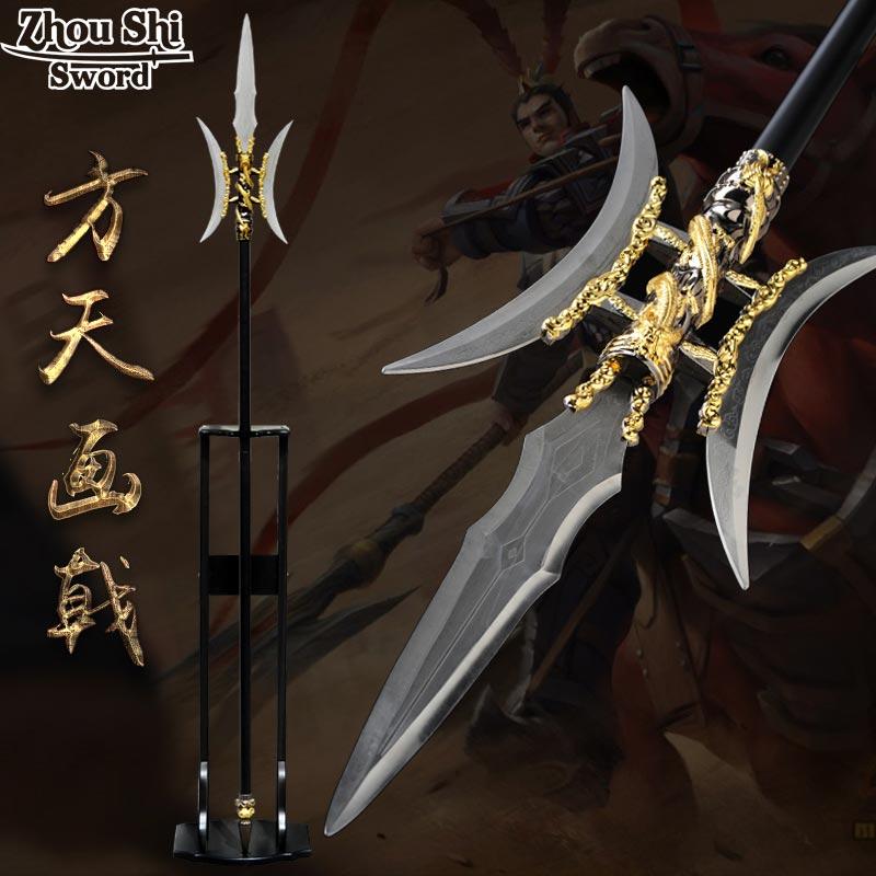 Chinois arts martiaux épée Bimensuel coupe du matériel En Alliage de lame en acier Inoxydable Unique artisanat Décorations pour La Maison