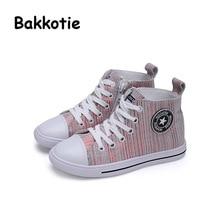 Bakkotie 2017 New Spring Fashion Girl Genuine Leather Children Casual Sport Shoe Baby Boy Leisure Sneaker Kid Brand Breathable