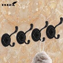 3PCS Decorative Wall Hooks For Hanging Cloth Hat Towel Hook Hangers Metal Coat Bag Rack Hanger For Bathroom Kithen Free Shipping