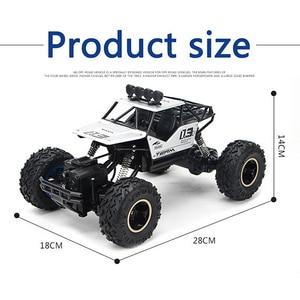 Image 2 - 1:16 4WD RC Car Rock Crawlers Drive Car Double Motors Drive Bigfoot Car Remote Control Car Off road Vehicle Toy Car For Kid