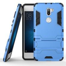 For Xiaomi Redmi 4 3S 4A 4X NOTE 3 4 Prime 4X Mi4C Mi5 Mi5S Mi 5 S 5S Phone Case Iron man Armor TPU Shockproof Kickstand Cover