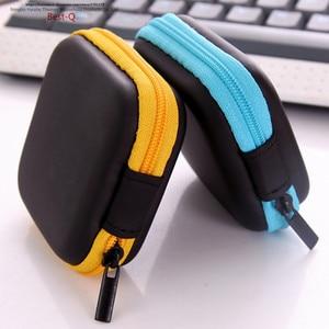 Image 4 - Free shipping mobile phone data line charger, finger tip gyro packing box, earphone storage bag, EVA earphone bag
