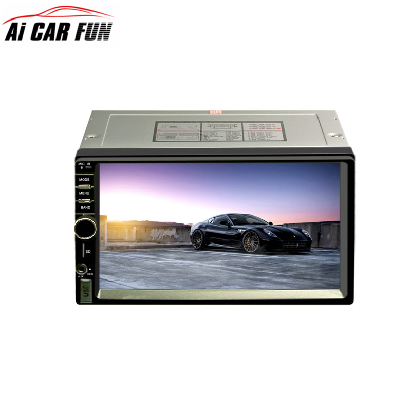 RM-CW7021 7-inch 2Din Car MP5 Stereo Audio Player with AM Function and iPod / iPhone Music Reading Car Multimedia Player