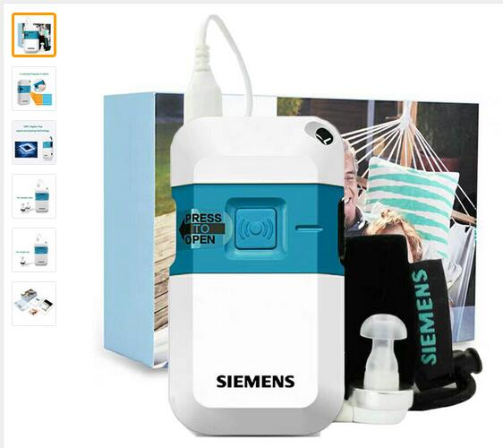 Siemens Digital Pocket Hearing Aid Ear Aids Pockettio DMP for Moderate to Severe Loss Sound Amplifiers