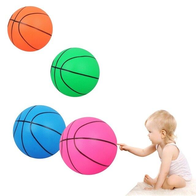 PVC juguete baloncesto mano muñeca ejercicio jugando juguete bolas ...