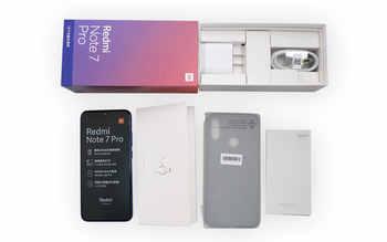 """Global ROM Xiaomi Redmi Note 7 Pro 128GB ROM 6GB RAM Telephone Snapdragon 675 Octa Core 6.3\"""" Display 48+13MP 4000mAh QC 4.0"""