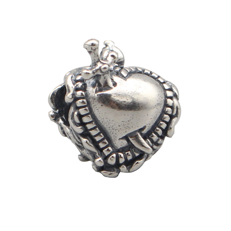 925 Sterling Silver Luna Charms For Gift DIY Bracelet Making Fit Troll OHM Charm Bead European Brand Bracelet Jewelry authentic 925 sterling silver charm beads shadow petals compatible fit troll european brand diy bracelet jewelry gift for woman