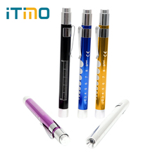 ITimo Mini LED Flashlight For Doctor Nurse First Aid Torch Lamp Portable Medical Pen Light Emergency Camping Light Powerful