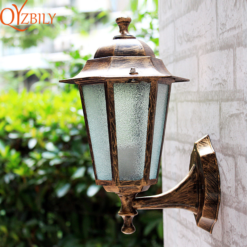Us 27 5 50 Off Outdoor Wall Lights Well Mount Led Lamp Porch Traditional Decorating Garden Security In