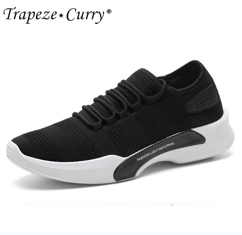 New listing hot sale summer men fly weave Breathable running shoes sports shoes T508
