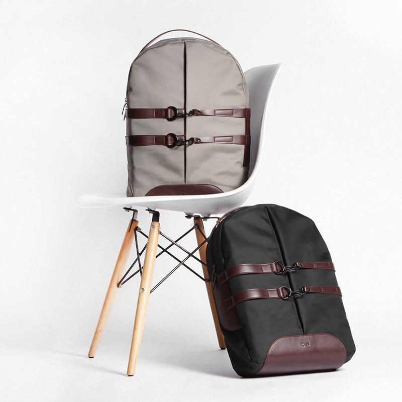 2018 новая группа холст унисекс Рюкзаки бренд 15 дюймов ноутбука Тетрадь Водонепроницаемый рюкзак школьный рюкзак сумка для MacBook