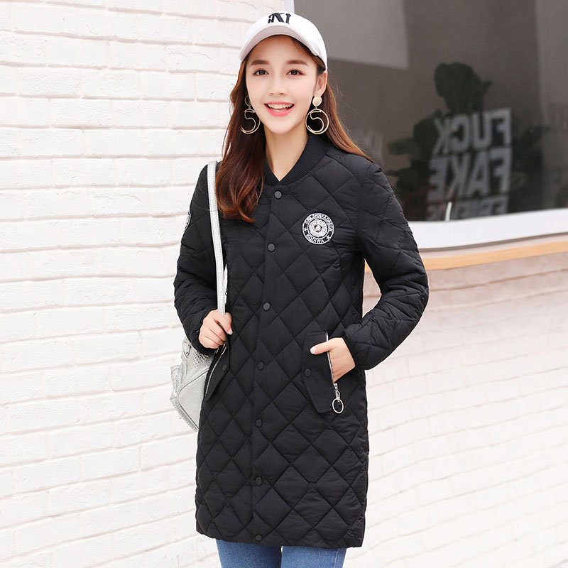 2017 New Long Parkas Female Women Winter Coat Cotton Warm Outwear Double Breasted Parka Coat Large Size XXL