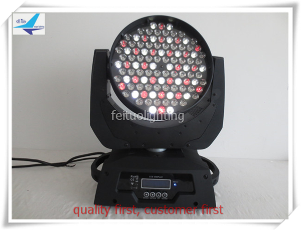 6xlot dj moving head wash 108x3w led lyre moving head rgbw stage light DMX-512 ,Master/Slave, sound activated, AUTO