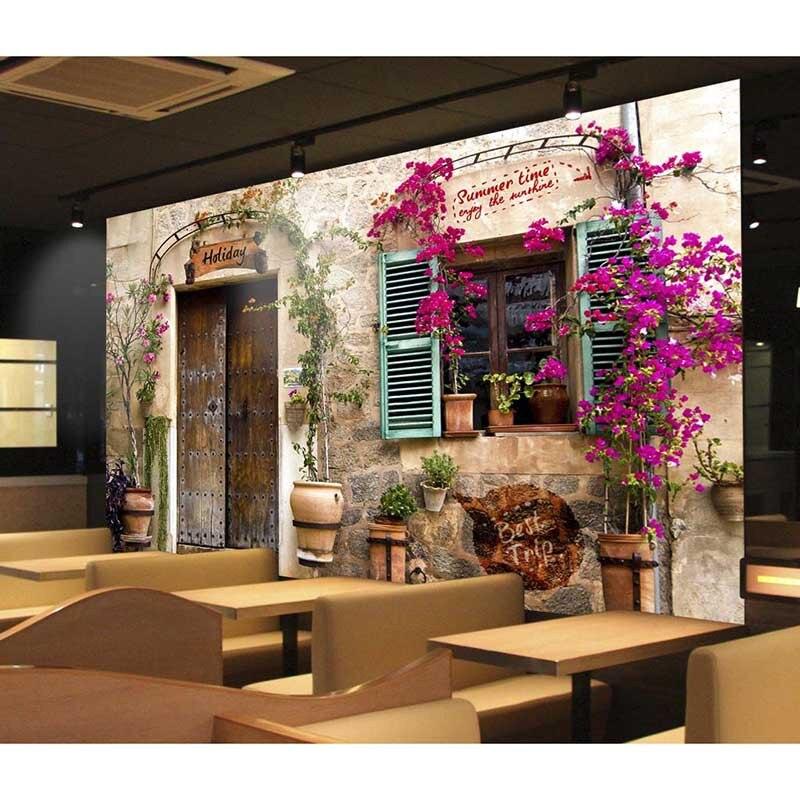 US $20.39 15% OFF 3D Benutzerdefinierte Fototapete Für Wände Wandbild Home  Decor HD schöne wand Wasserdichte Wand papier Für Esszimmer Neues ...