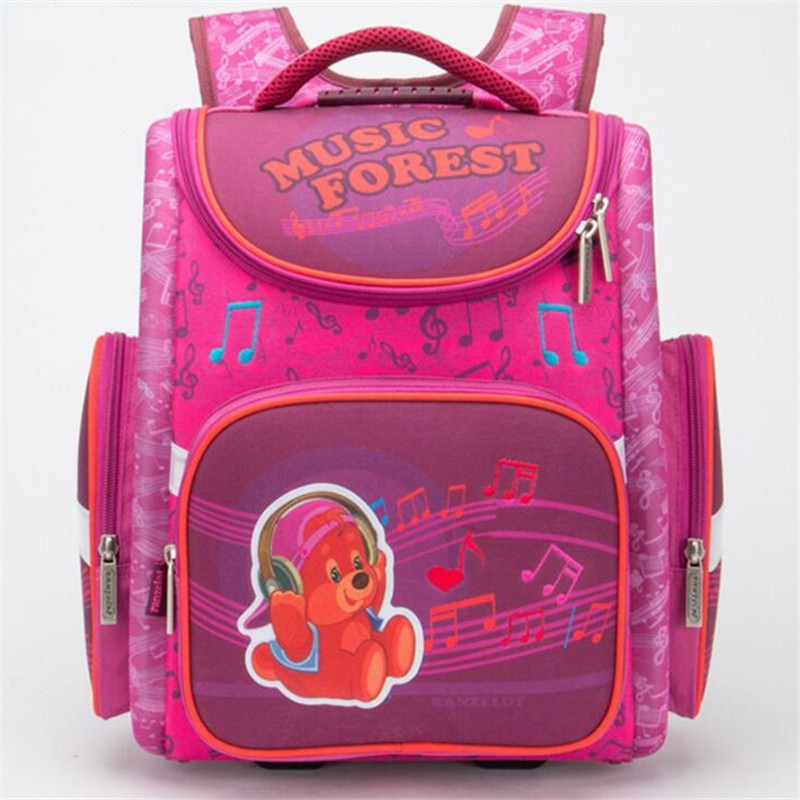Children School Bags For Boys Orthopedic School Backpack Girls Cute Bear Kids Satchel EVA Hard Cover Schoolbags Mochila Infantil kindergarten new kids school backpack monster winx eva folded orthopedic baby school bags for boys and girls mochila infantil