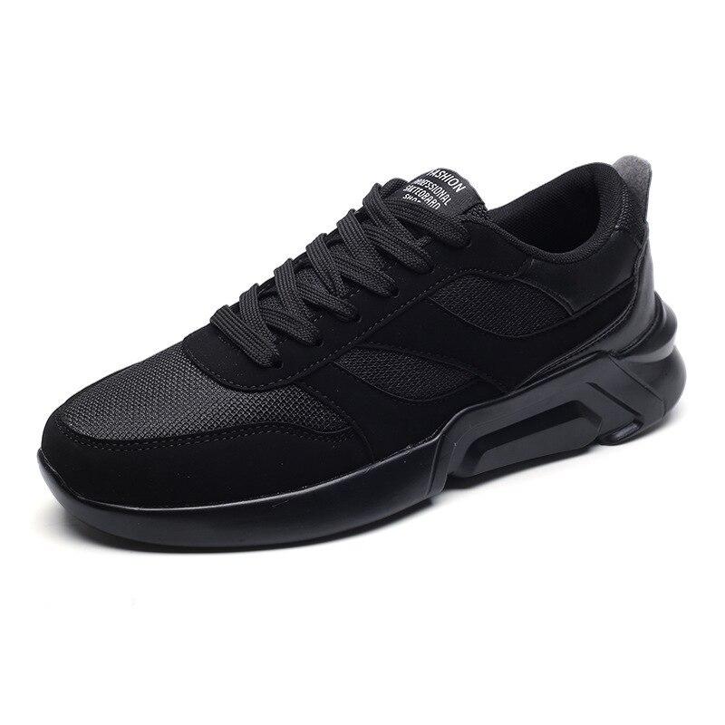 Versão Da Casuais Sapatos cinza Novos Dos Respirável branco Forma Coreana Preto De Homens rwRfqrx8