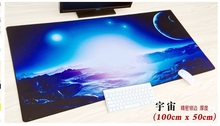 WESAPPA 100X50/90X40CM XXL Large locking edge Gaming Mouse pad speed Keyboard mousepad Desk Mat for game player
