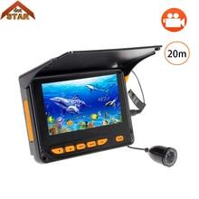 "Stardot Fishing Video Camera 20M 4.3"" Fish Finder HD 1000TVL Underwater Fishing Camera Video Recording DVR 8pcs IR LED Sunshield"